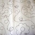 Button Flower & Loops (Loftworks Quilting design)