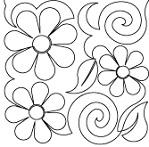 Flower Swirls dt