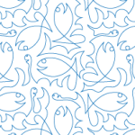 Here Fishy Fishy © Sue Schmieden Digi-Tech