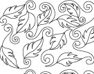 Jessie's Swirling Leaves © Jessica Schick Digi-Tech