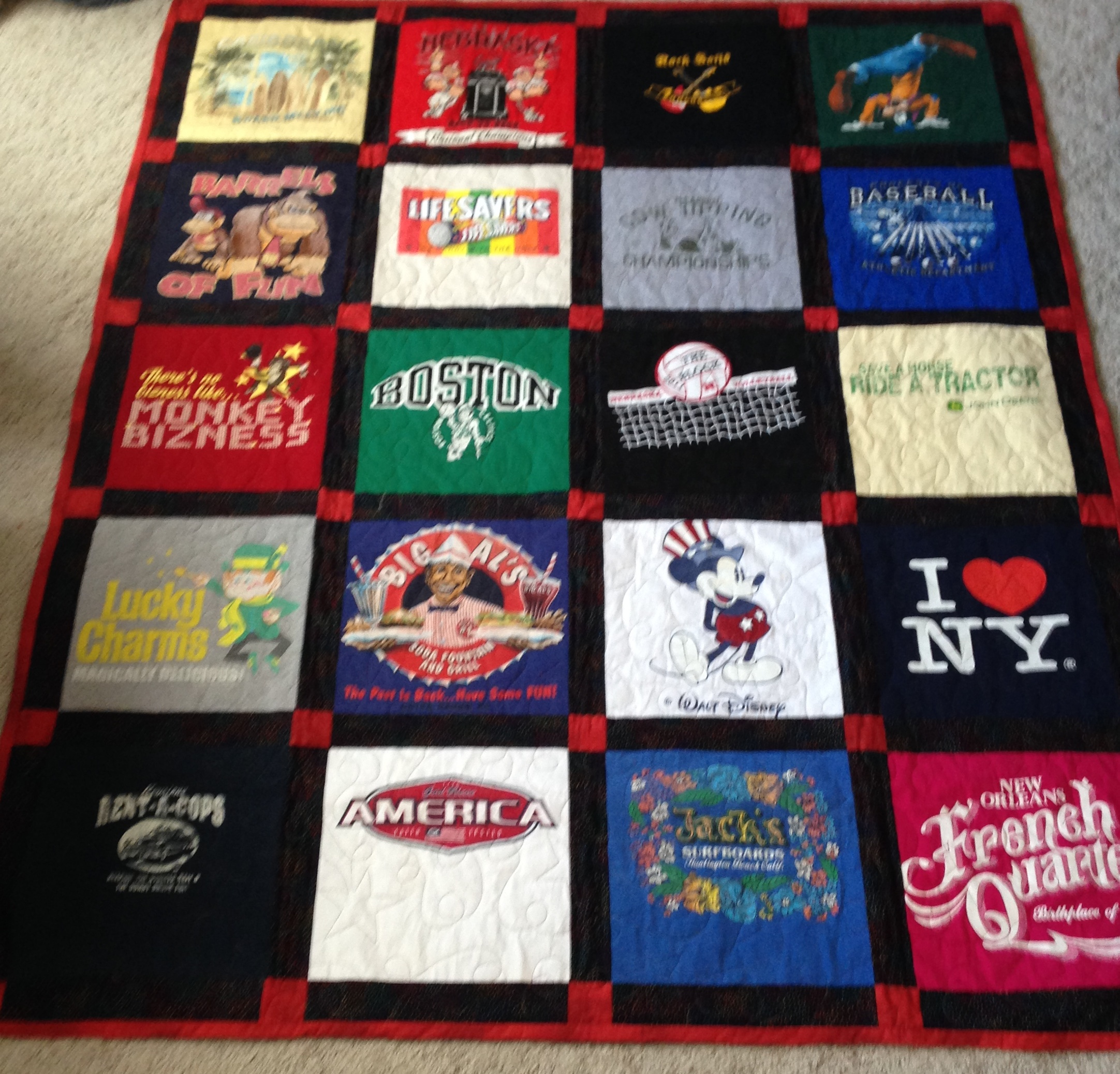 90468eeffa T-Shirt or Memory Quilts - Loftworks Quilting | Loftworks Quilting